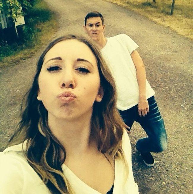 Chriiiiiiis Self Portrait Selfie Friends Having Fun