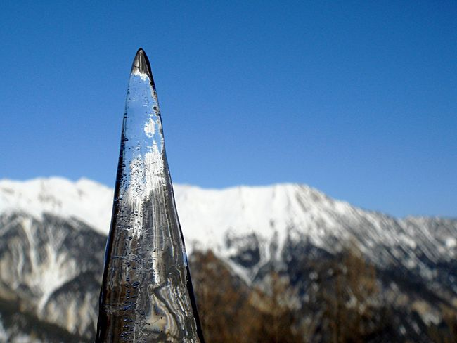 My Winter Favorites Stalactite  Mountains Snow Sky Ice Serre Chevalier