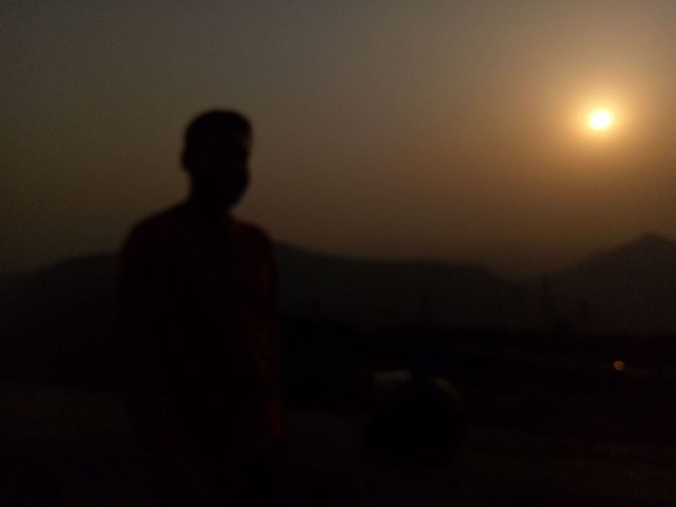 Silhouette Shadow One Person Adults Only Dark Night One Man Only Loneliness Only Men People Horror Adult Spooky Standing Halloween Indoors  Tranquility Bonding Travel Destinations Sunset Beauty In Nature Fog Scenics Mountain Landscape