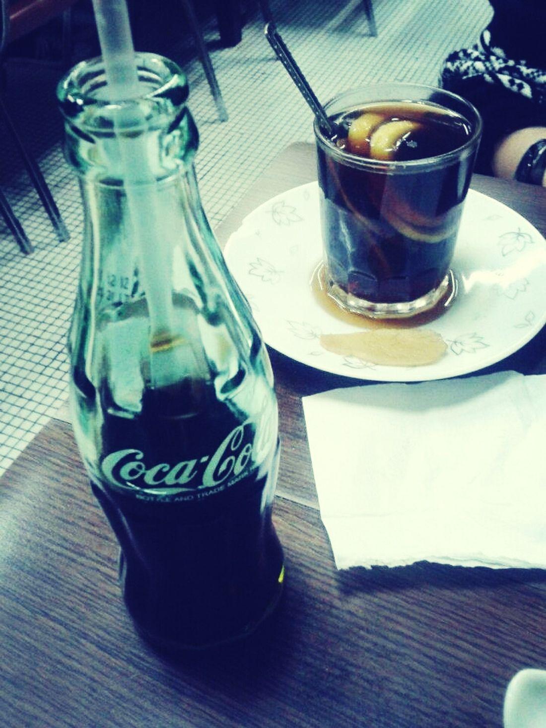 Iced coke vs boiled coke w/ lemon Coca-cola I Love Hong Kong Coke For Life Enjoying A Meal