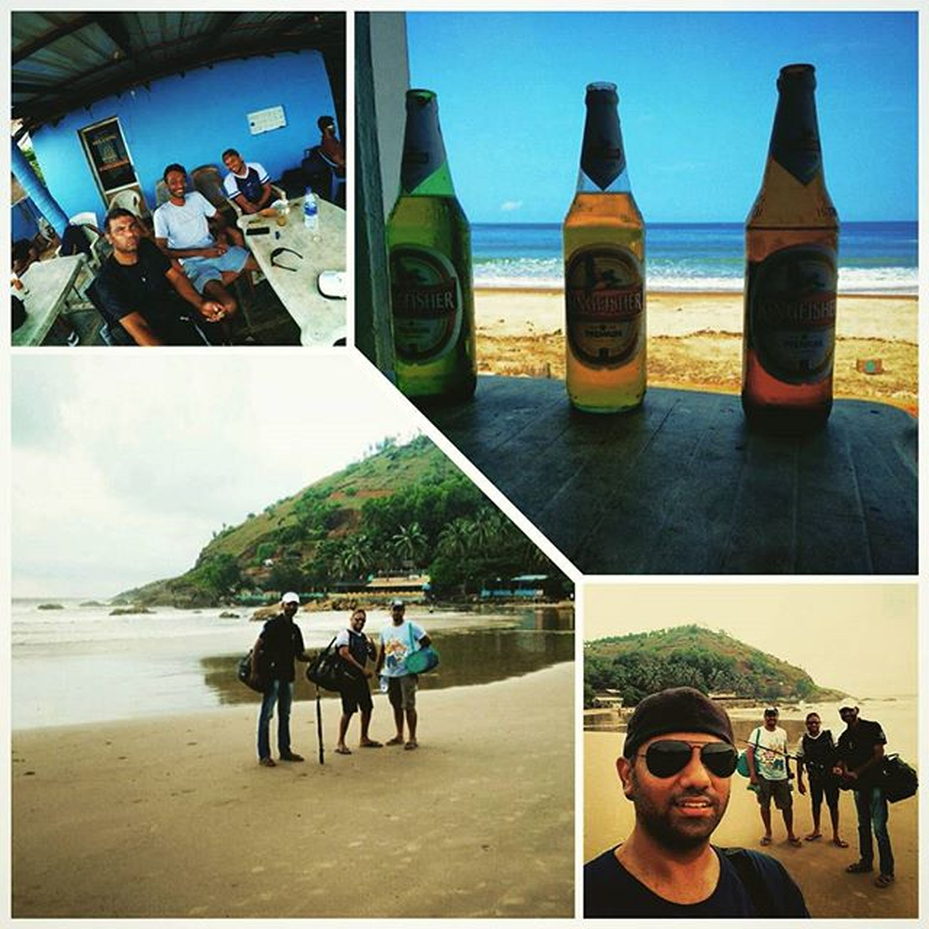 🌴Vacation🌴 is never complete without Greatfriends  and Kingfisher Beer and foraying into a new sport Fishing 🎣. Time well spent relaxing, bird watching, Fishing 🐟, Kingfisherpremiumlager 🍻, great Food😜 . Next, guess we should trying Surfing🏄 . What say @itsbloodyeddie @charan_pc ?? Pic courtesy: Deadly Soma