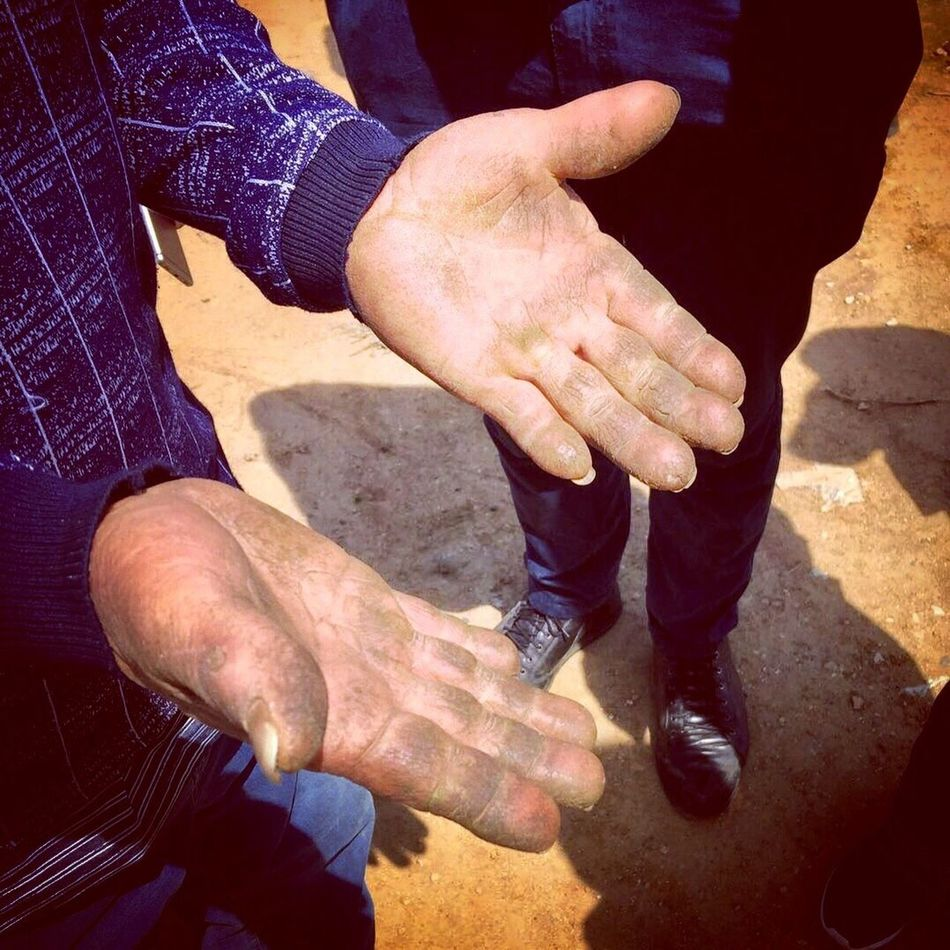 Togetherness Human Hand Two People Human Body Part Connection Day Shadow Sunlight Friendship Outdoors Teamwork Men Real People Bonding Lifestyles Close-up Adult People Adults Only