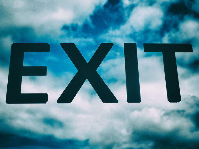 Above Blue Cloud - Sky Clouds Cloudy Day Exit Hope Information No People Out Sign Sky The Way Out Tranquility