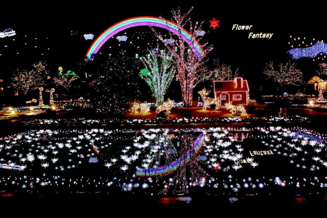 Illuminated Night No People Outdoors Japanese Girl Spotted Celebration Lighting Equipment Defocused Lightup Event Tochigi.japan ファインダー越しの私の世界 写真撮ってる人と繋がりたい カメラ好きな人と繋がりたい カメラ女子