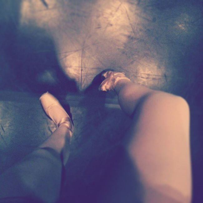 Ballet PointeShoes  Pain Hard Lovely Auftritt Toes Ballerina On Stage Smile I Love Dancing ♥♥
