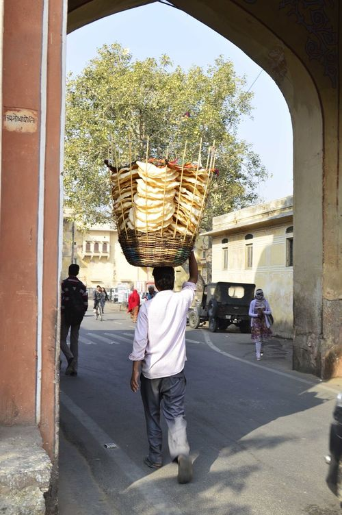 Adult Architecture Cultures Day Full Length India Jaipur Jaipur Rajasthan One Person Outdoors People Travel Tree