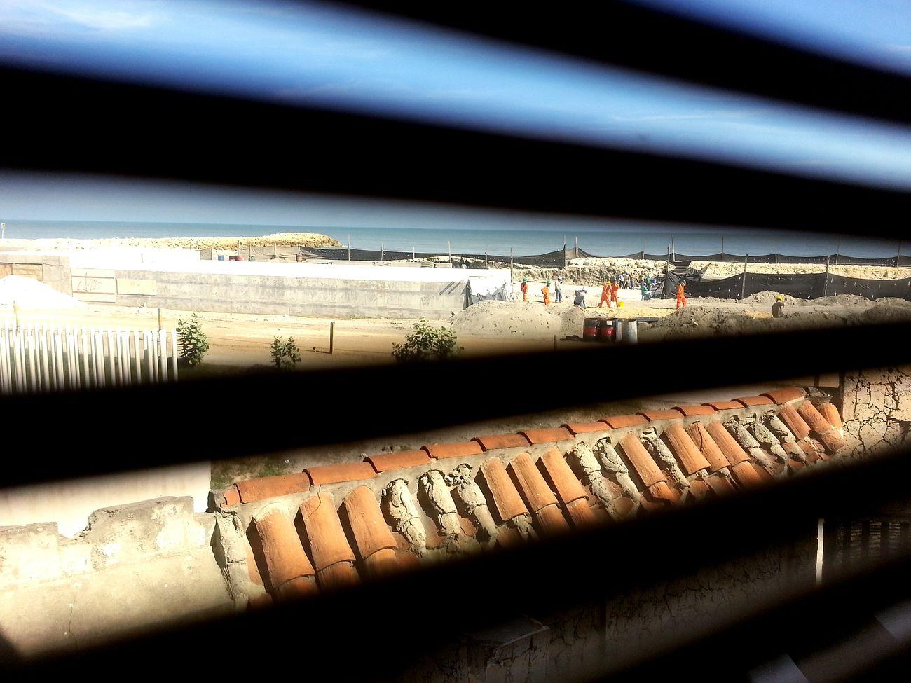 Desde Mi Ventana... Cartagena, Colombia Construction Tunel De Crespo Hotel Corales De Indias