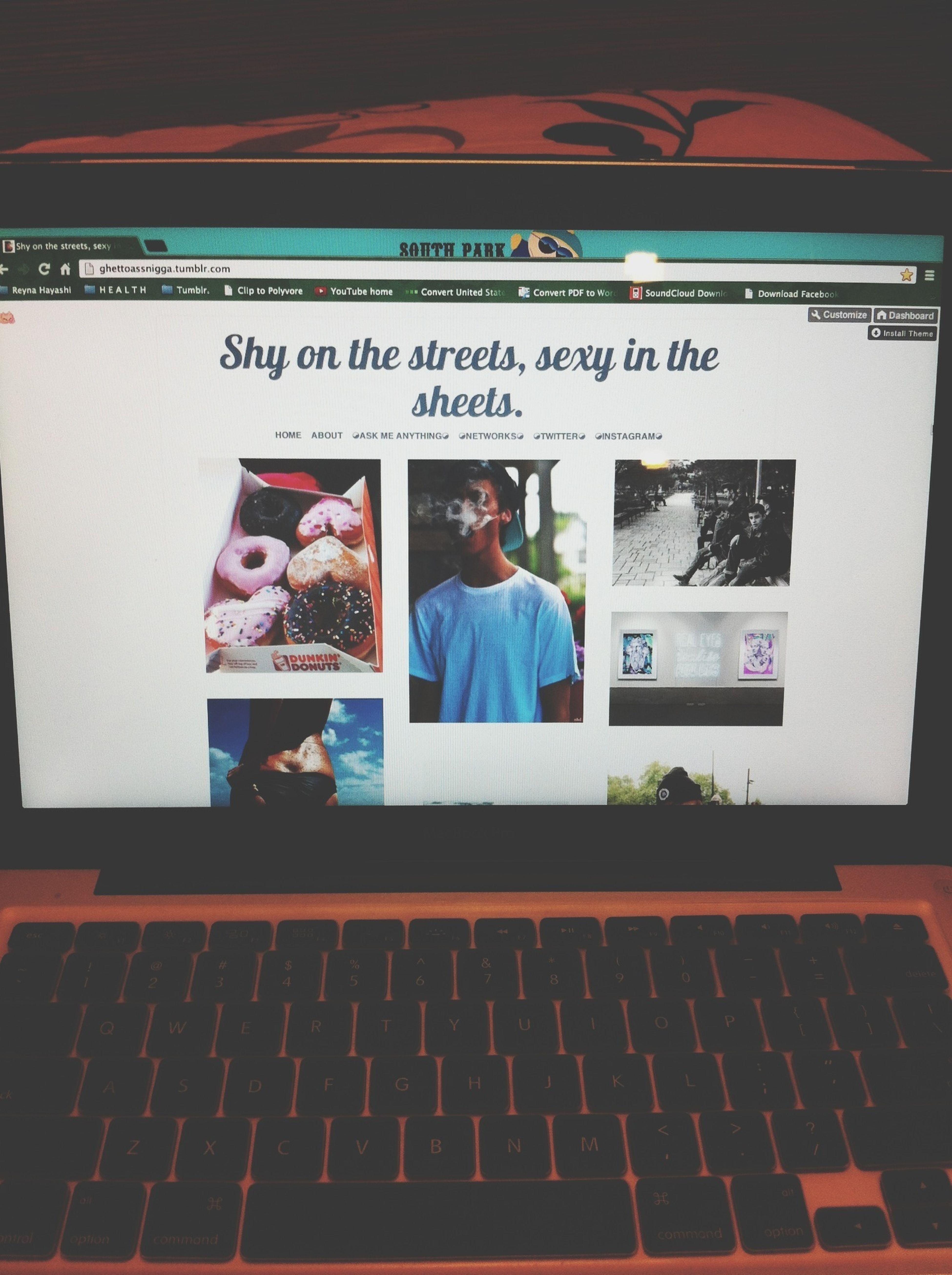 follow me: http://ghettoassnigga.tumblr.com