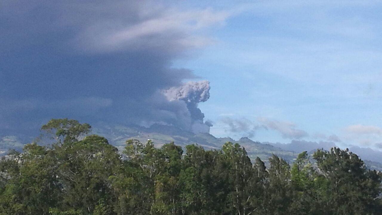 Volcan Turrialba Erupción First Eyeem Photo