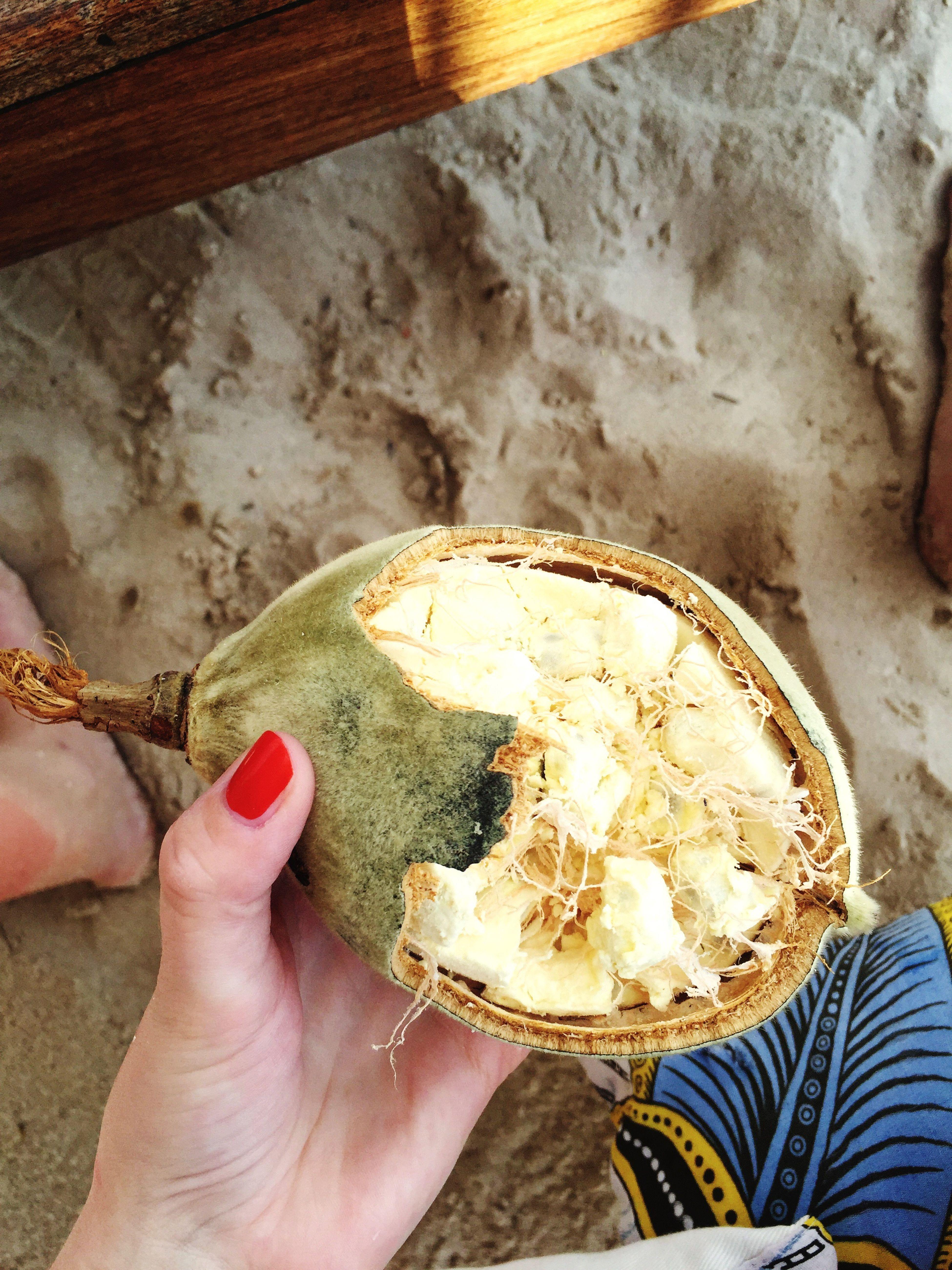Baobabfrukt!🌳