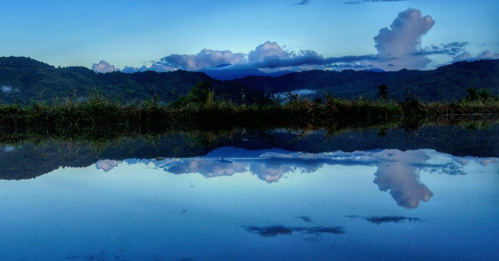 North borneo Tambunan my hometown Mt Trusmadi Reflection Landscape Art Is Everywhere Hdrphotography l LEARNEDTHEHARDWAY