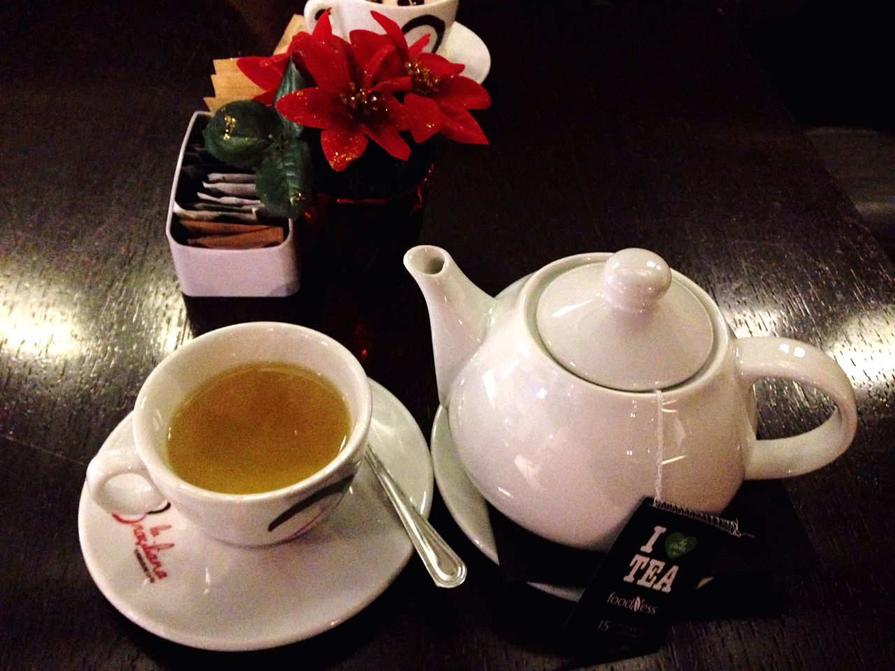 drink, refreshment, tea cup, food and drink, saucer, tea - hot drink, cup, teapot, freshness, table, coffee cup, indoors, non-alcoholic beverage, beverage, no people, healthy eating, sugar cube, flower, plate, breakfast, herbal tea, close-up, food, day