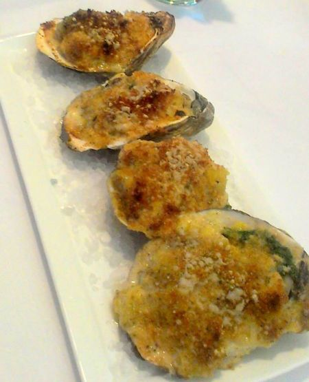 Heritage Grill New Orleans Oysters On The Half Shell Oysters Rockefeller P&J Oysters Rock Salt