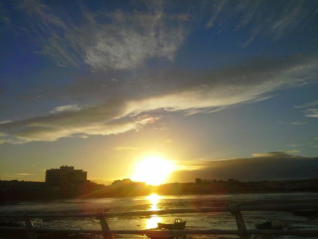 5.30a.m. Sunrise in July Sea Enjoying The Sun Check This Out Capture The Moment Seaside_collection Coastalimage Waterscape Nature Photography Outdoors Dramatic Sky Vertical Chic Blue Sky Sunsetsniper