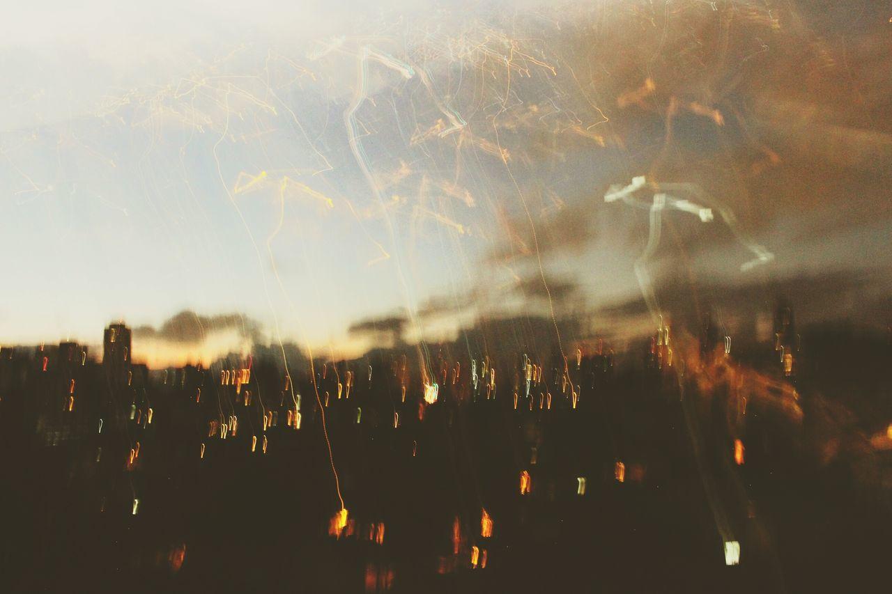 Sky Night Illuminated SaoPaulo-Brazil