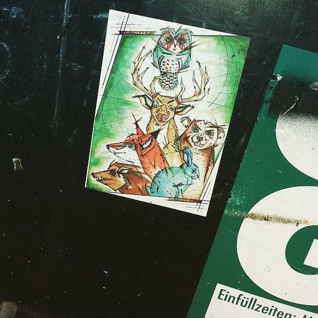 Majestic Trashimals Sticker Stickerslap Trashimals Streetartleipzig