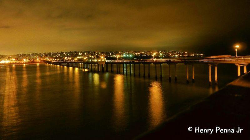 San Diego, California Panasonic Lumix Panasonic  San Diego Ca San Diego On The Beach Nightphotography Night Photography Long Exposure Beach Pier