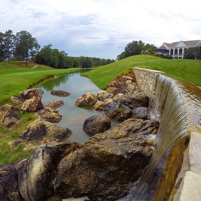 EyeEmPaid Gopro Waterfall Water Golf River EyeEm Gallery EyeEm Best Shots - Nature Eye4photography  Enjoying Life Check This Out