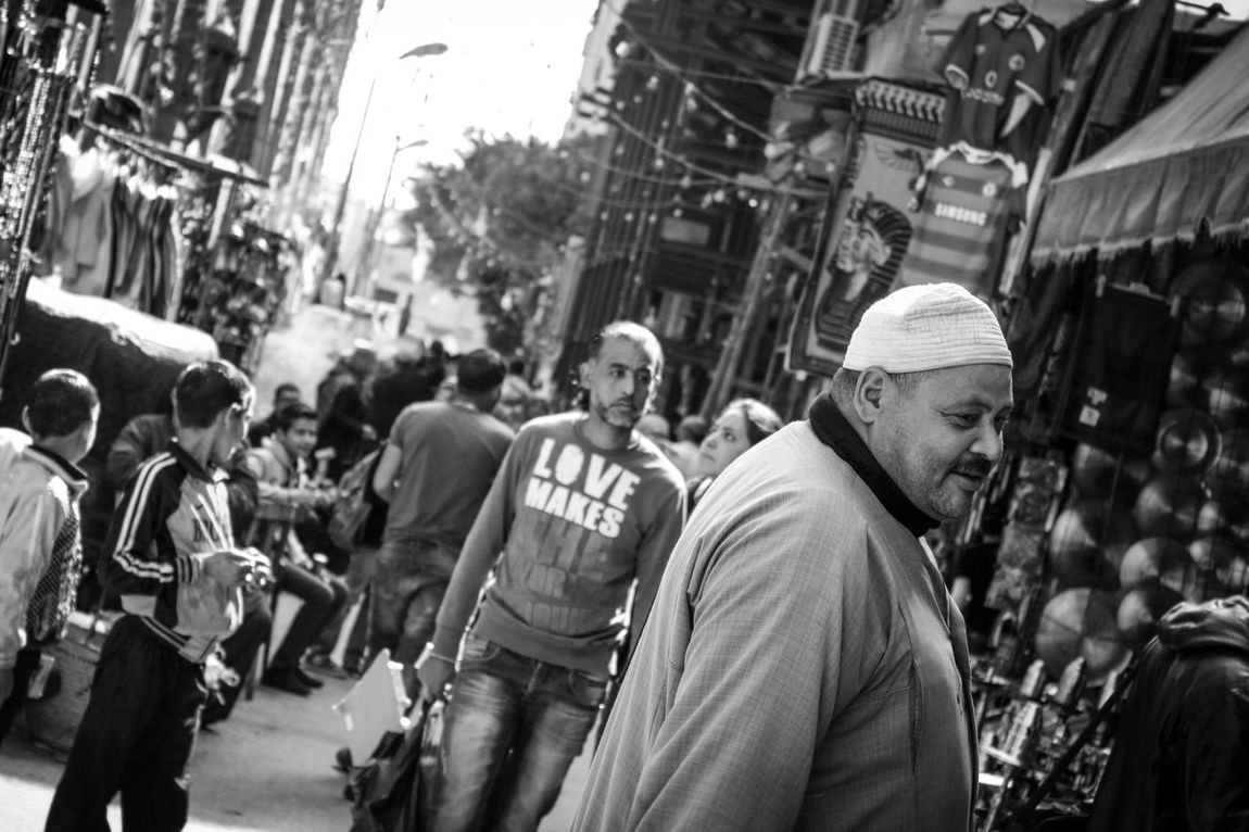 Blackandwhite Daylight Egyptian-Faces Historical Place Khan_alkhalili Motion People Streetphotography