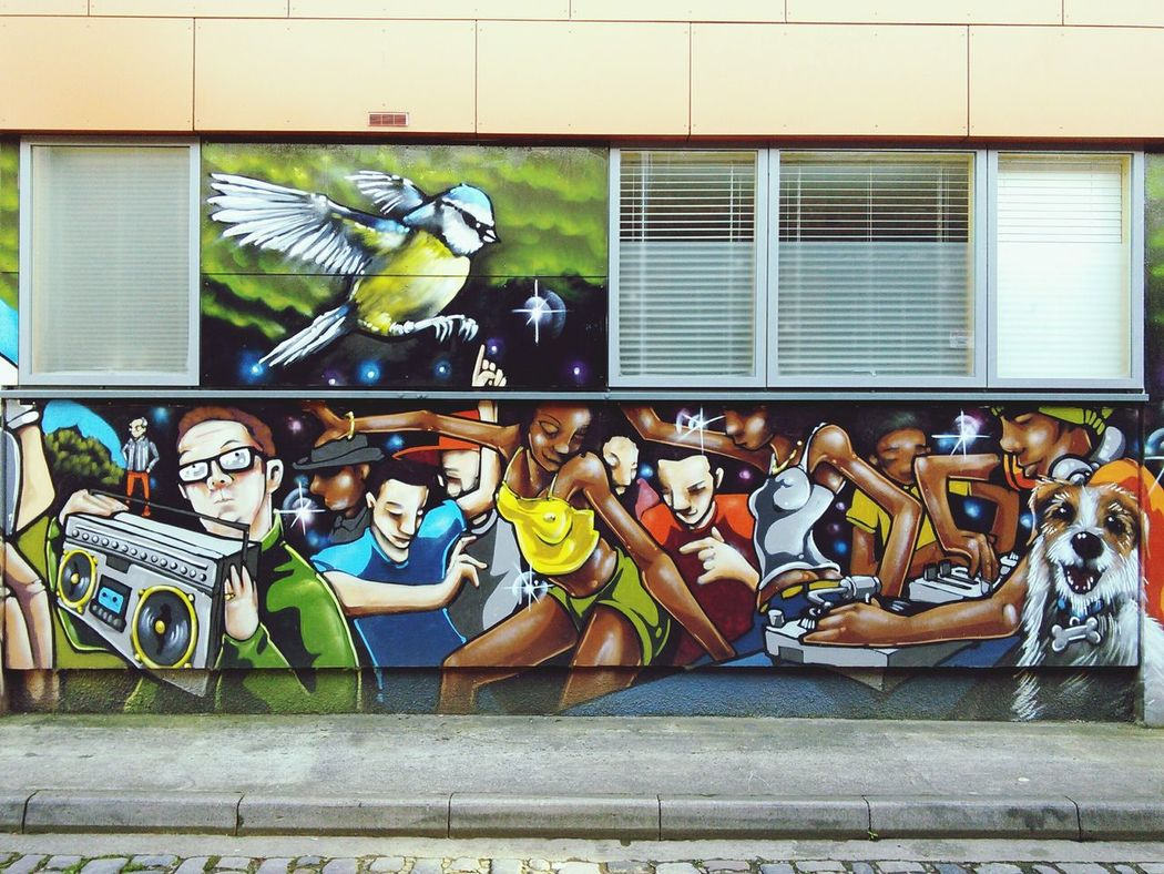Streetart Graffiti 1 of 3 Art