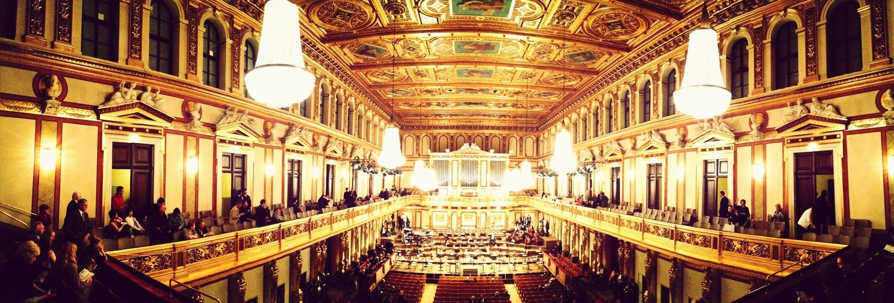 Concert Concert Hall  Classical Music Panorama
