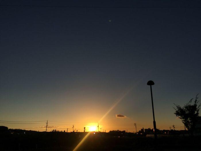 夕陽 Sunset 太陽 Sun 空 Sky