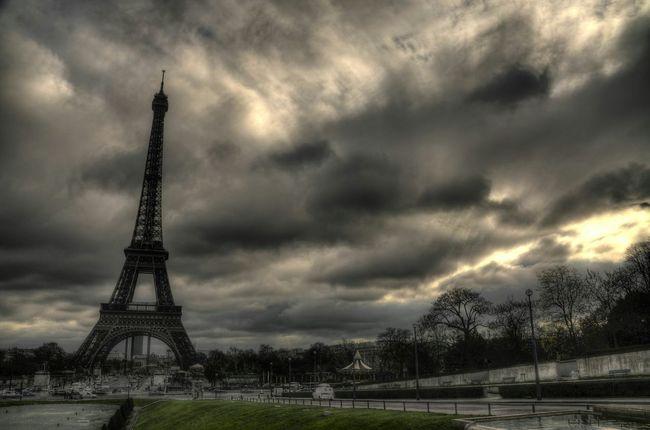 Eifelturm Eifel Tower Eifelltower Hdr_Collection HDR Hello World Check This Out Taking Photos Paris, France  Paris ❤