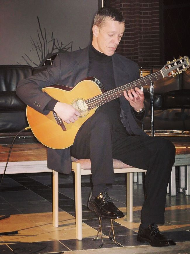 My Brother  Playing The Guitar Making Music Family Memories Still Alive Music Brings Us Together