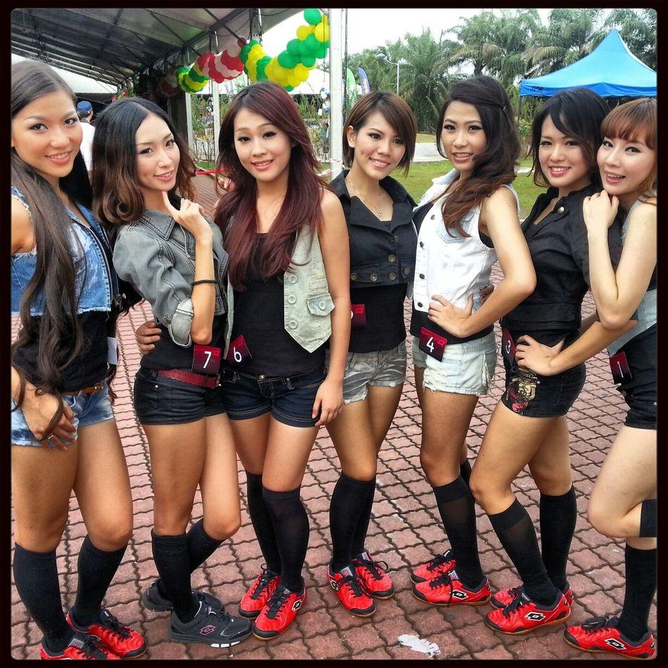 Japan GT 2013 Models at Sepang F1 Circuit, Selangor Malaysia. Tourism Selangor Selangor Tourism Malaysia Girls Malaysian Girls