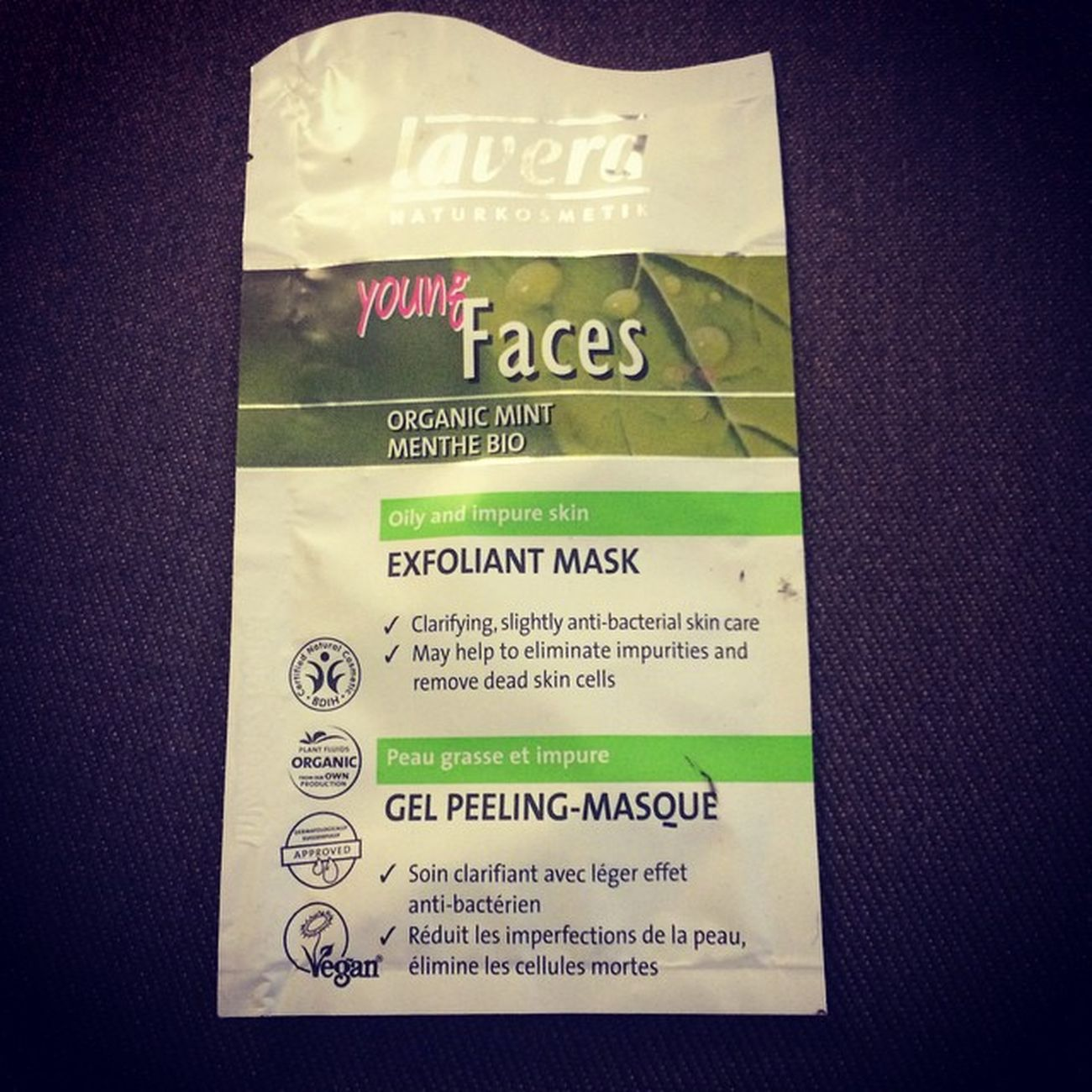 Masque du soir, bonsoir ! LaVera Bio Greenbeauty Mask Vegan Clean Germanbeauty Bioty MademoiselleBio