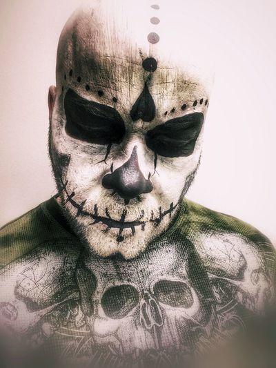 Sugar Skull Portrait. Sugarskull Makeup Art Portraits