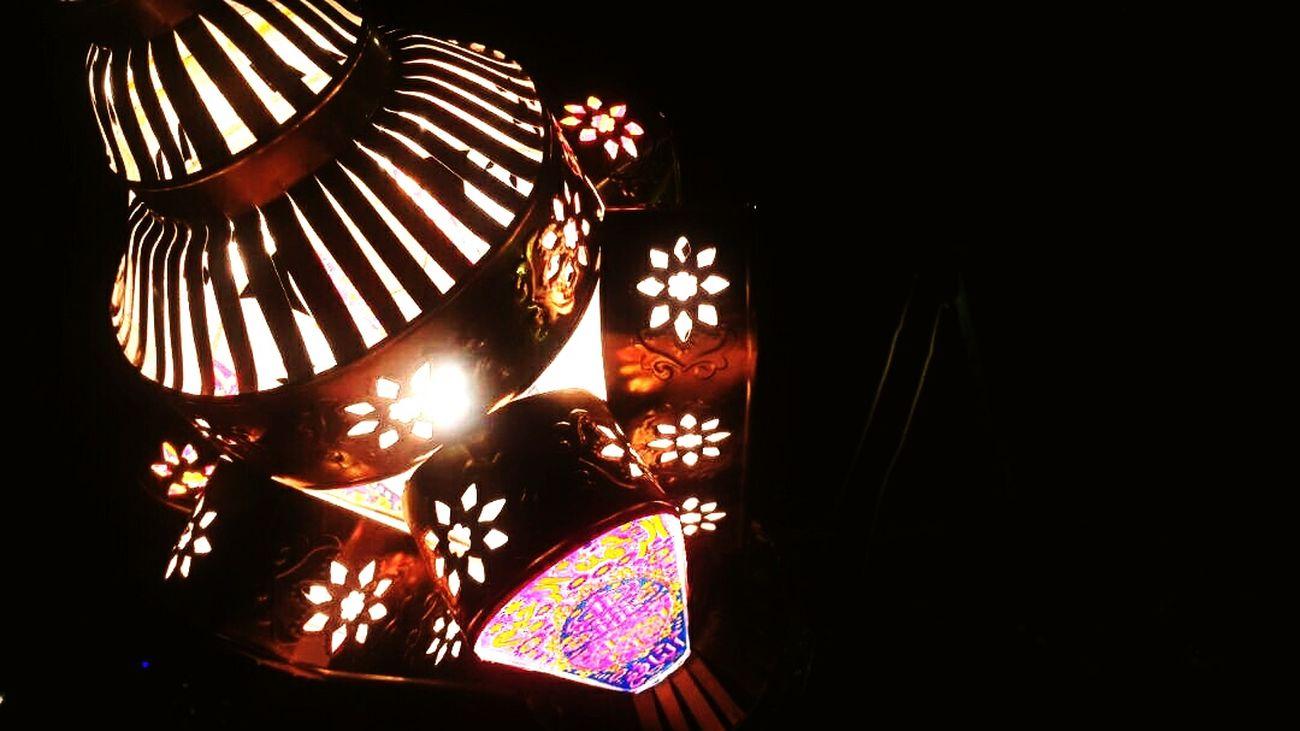 No People Holiday - Event Curtain Multi Colored Night Indoors  Close-up Ramadan  Ramadan Kareem Nightphotography Mobilephotography Ramdan🎉🎉