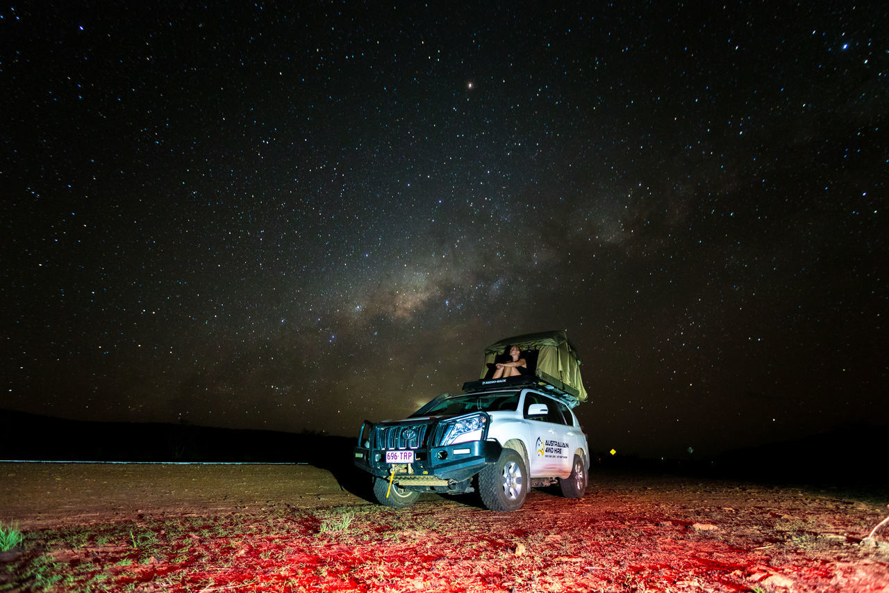 out in the outback .... gibb river road western australia Astronomy Beauty In Nature Car Check This Out Galaxy Land Vehicle Milk Milky Way Milky Way Galaxy Nature Night Outdoors Scenics Sky Space And Astronomy Star - Space Star Field The Drive