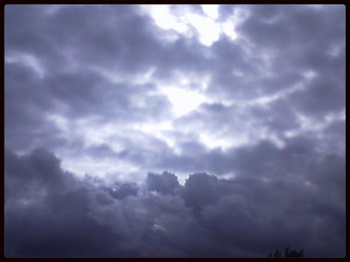 Clouds in Colorado today Clouds Colorado Winter