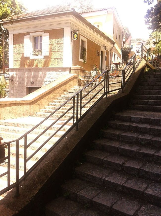 Stairs Hometown Homestreethome Old Town Sunny Sunnyday Beautiful Job Relaxing Taking Photos History Architecture Herceg Novi,Montenegro