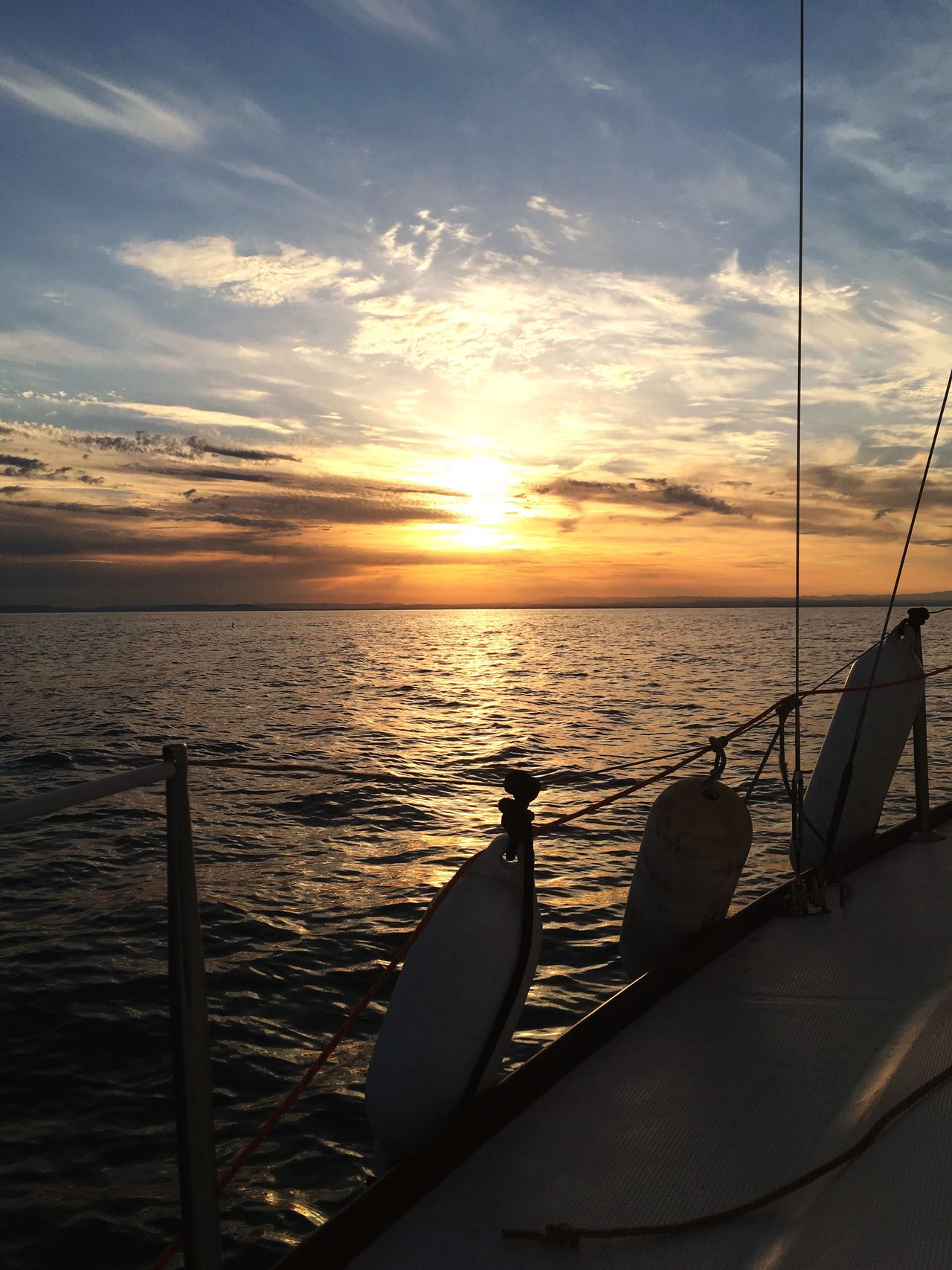 Sea Sunset Water