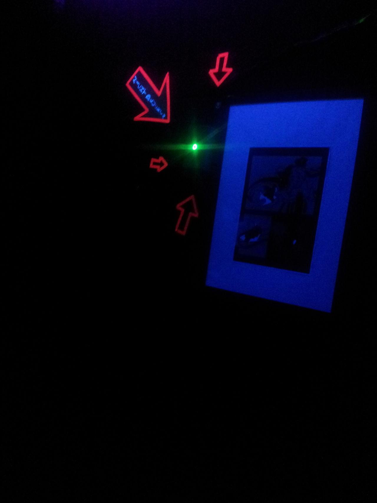 Illuminated Neon No People Indoors  Exit Sign Luminosity Night Dark Architecture Hello World One Man Only Human Body Part