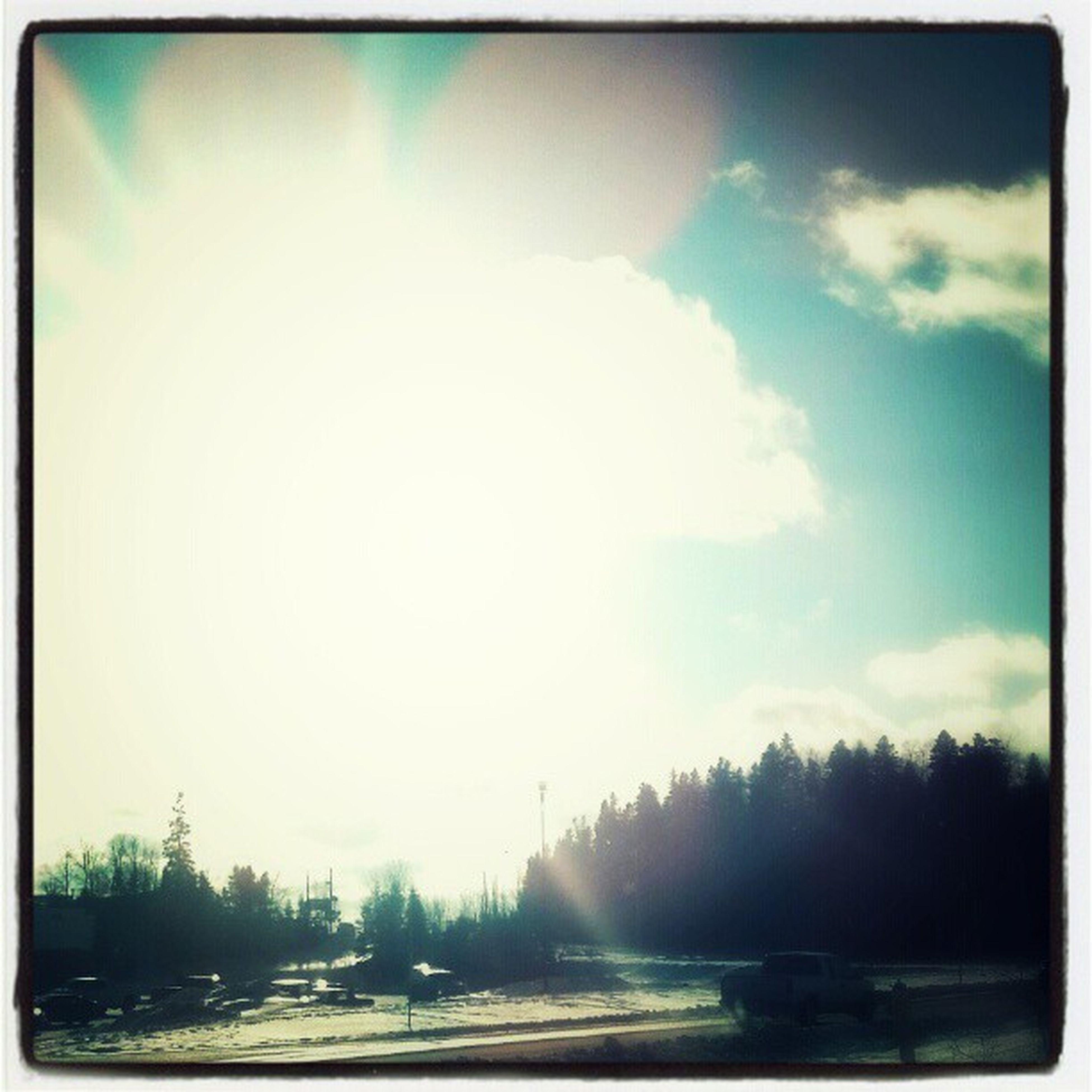 Canada Sun Gay Cool Blue Sky Clouds Canadian - EyeEm - 웹