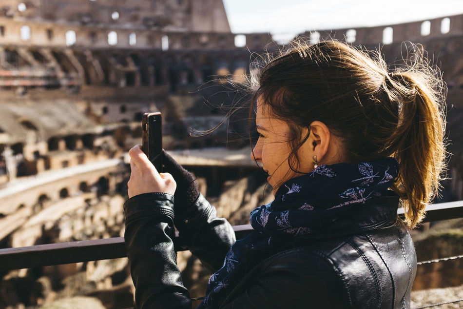 Beautiful stock photos of roma, 30-34 Years, Amphitheater, Ancient, Arch