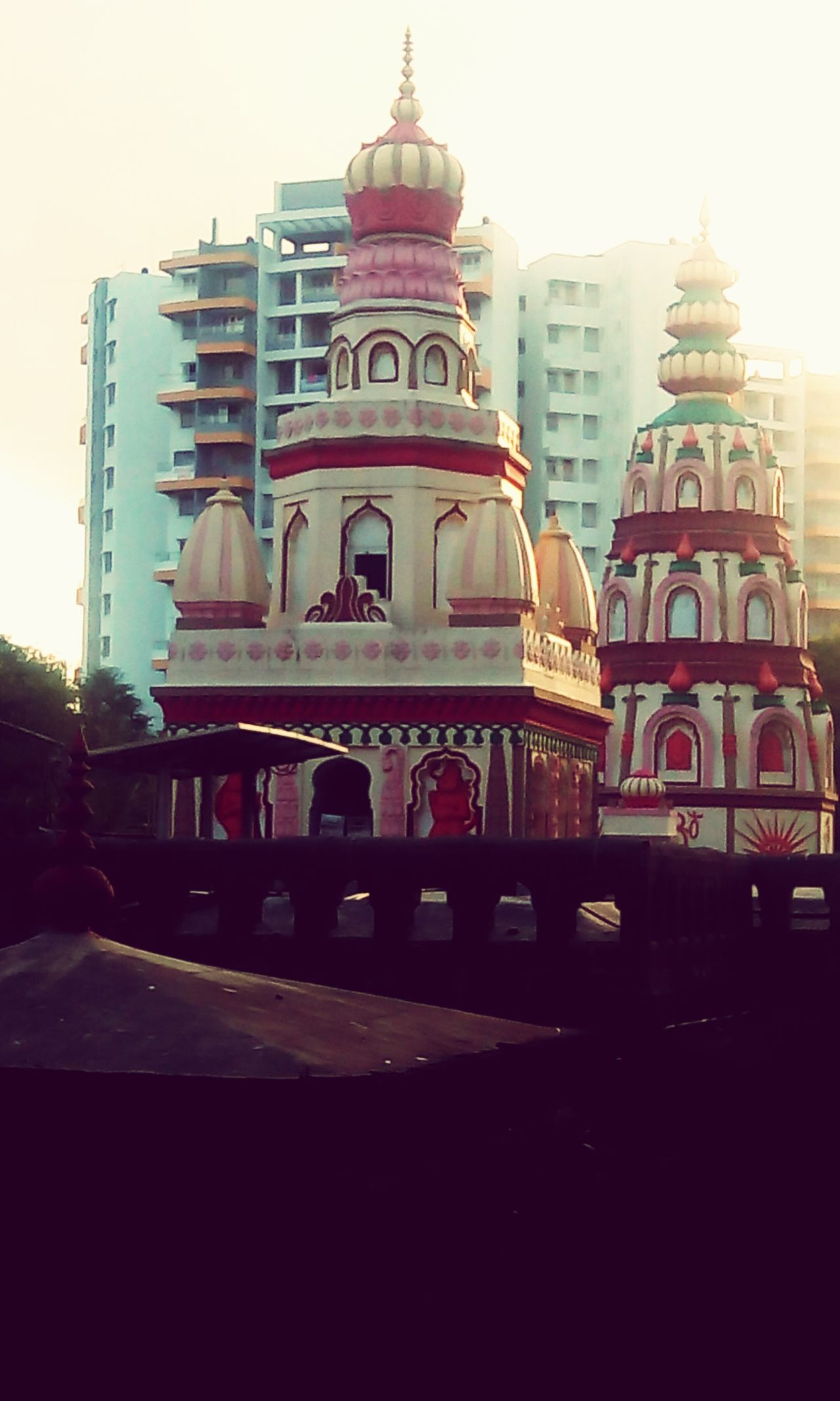 Architecture Temple Relegion Spirituality Hinduism Indian Culture  Sunset Outdoors