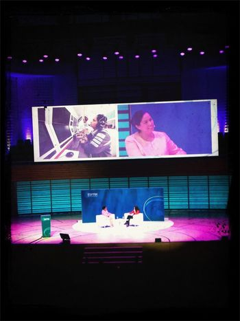 #monishakaltenborn CEO von #sauberf1 on stage #ironlady? von 300 mitarbeitern #esprix13