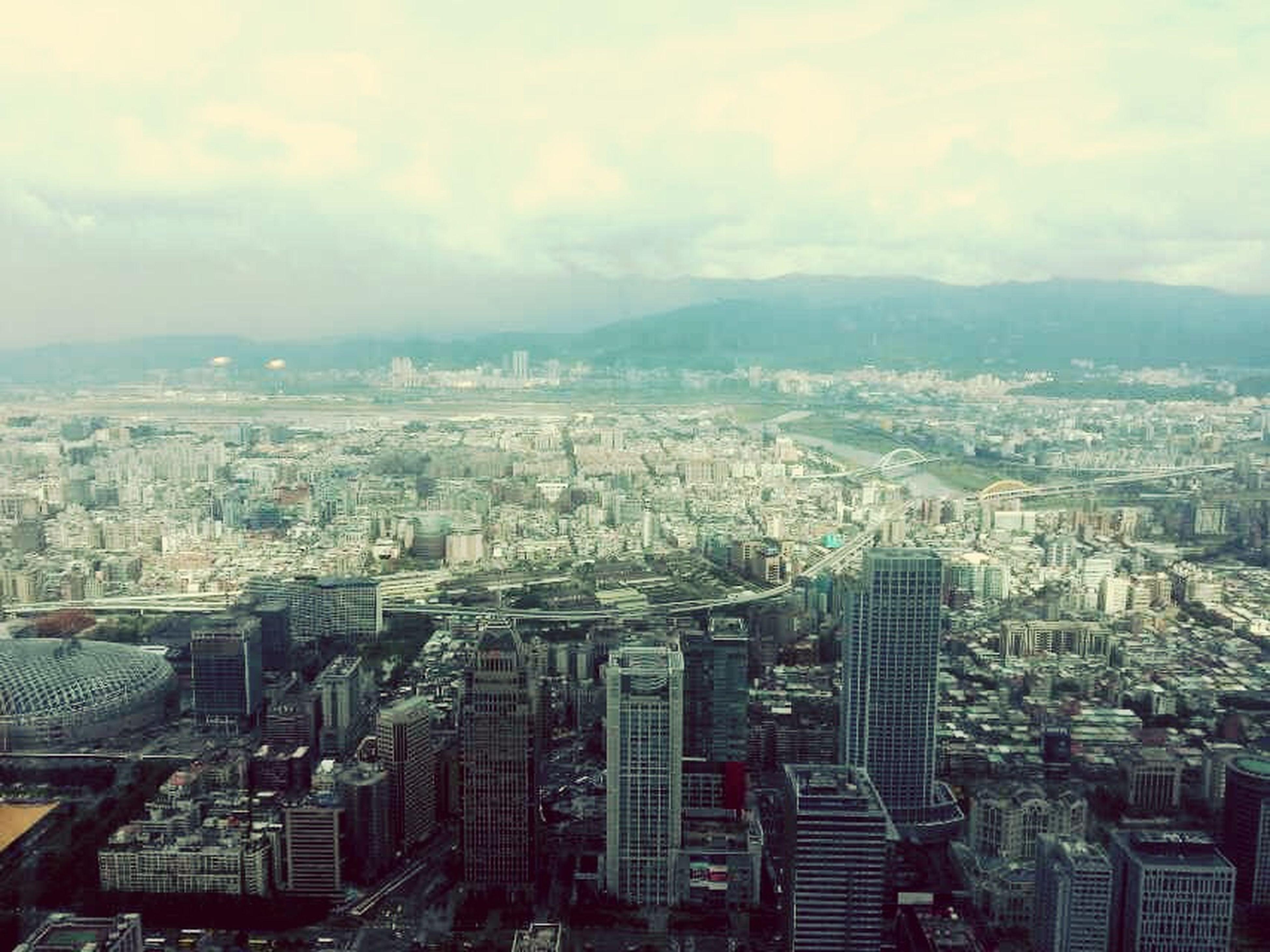 台湾101大厦。 In Taiwan.