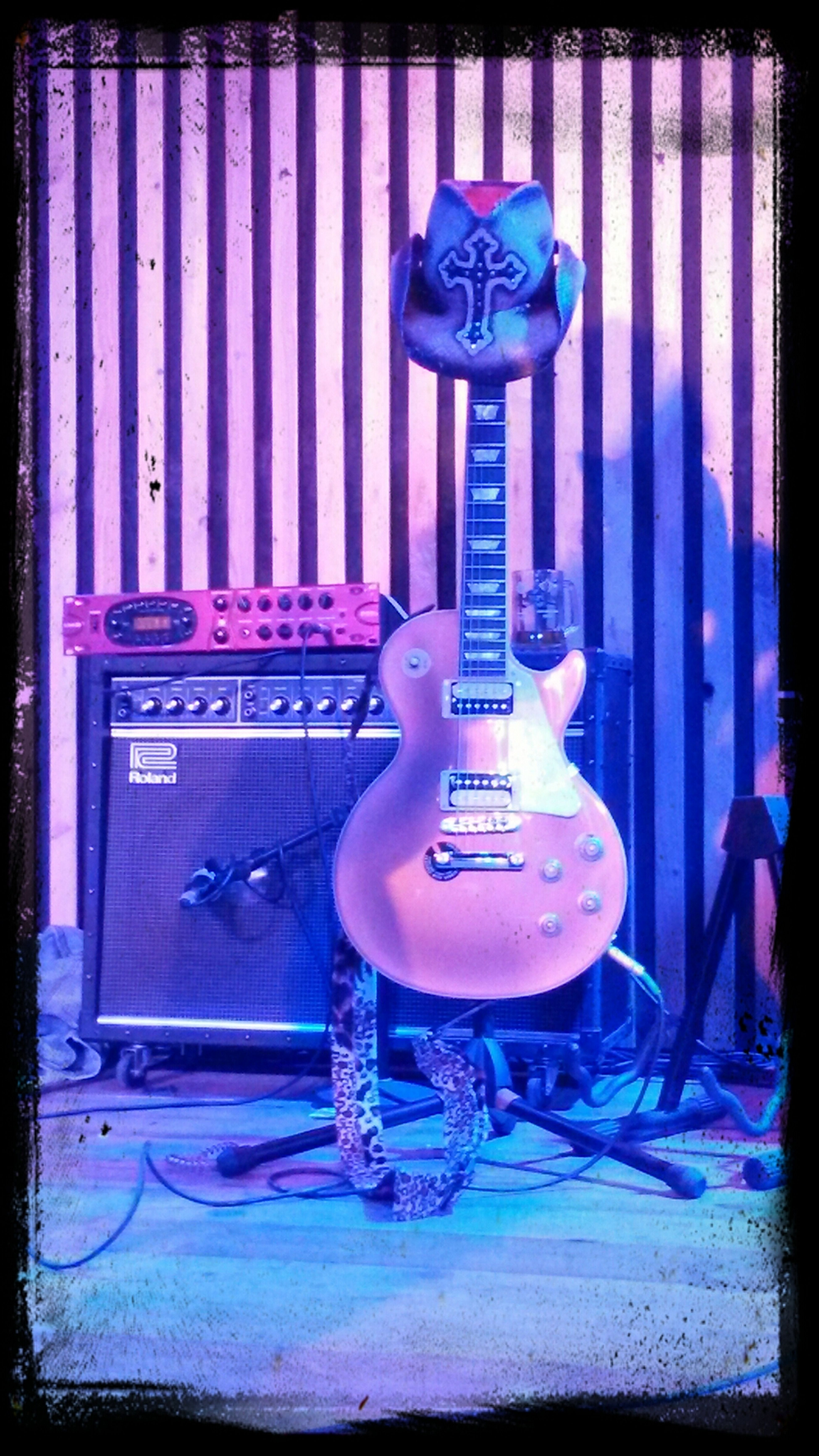 My Guitar. Les Paul. Selfie. ;D