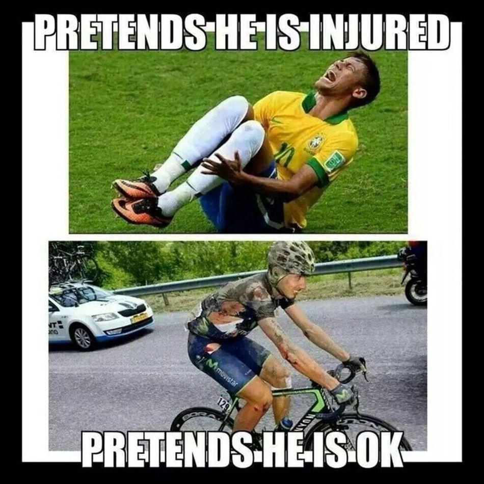 Precisa explicar ? Ciclismo e para os fortes! Semfingimento Neymarbichinha Futesportecomprado