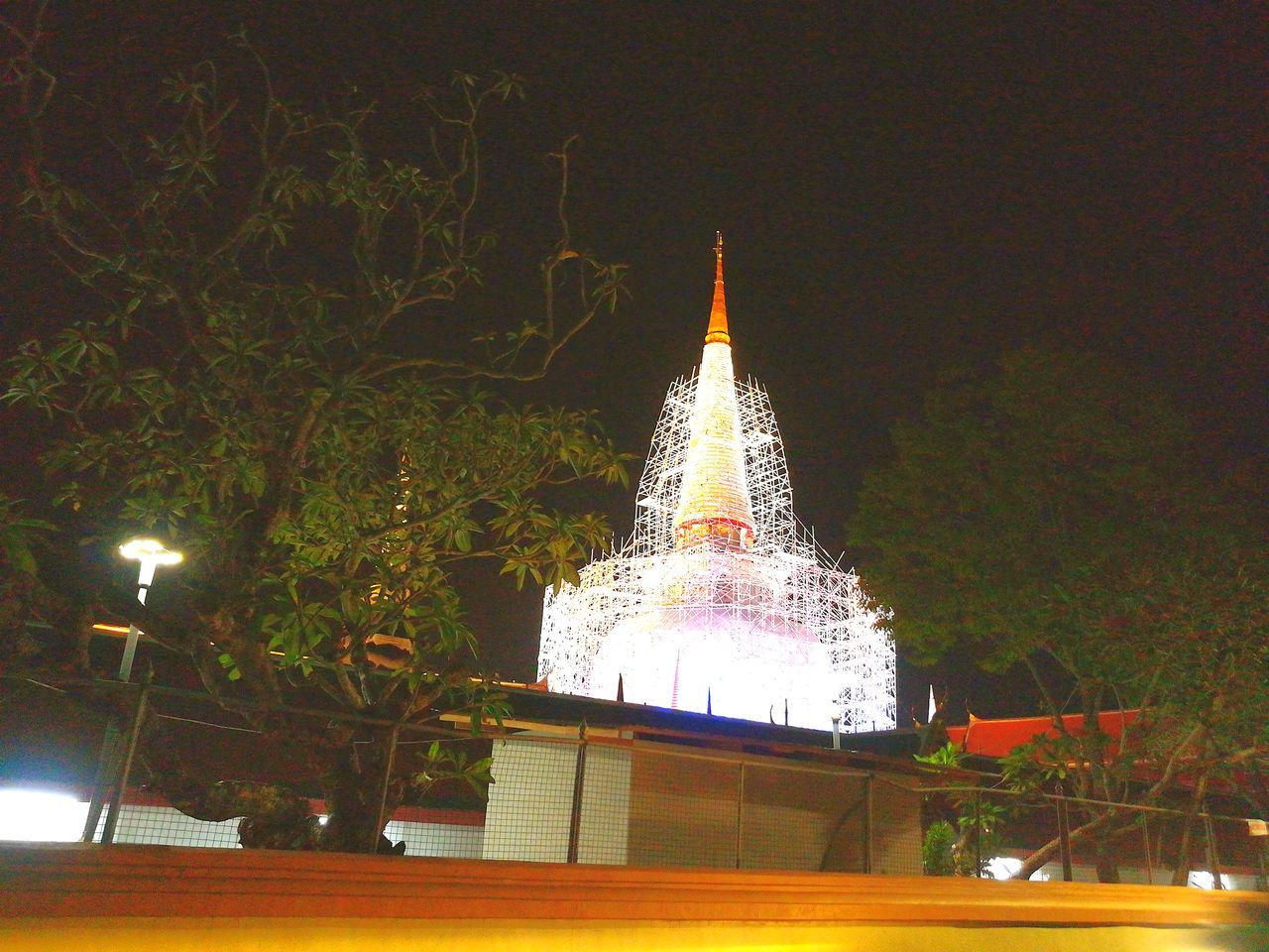 Pra ma ha tart. Nakhon Si Thammarat Night Light Bulb Outdoors No People Tree