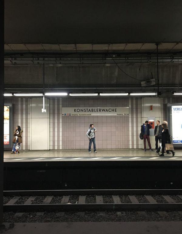 Here again… #Frankfurt #Konstablerwache #SBahn