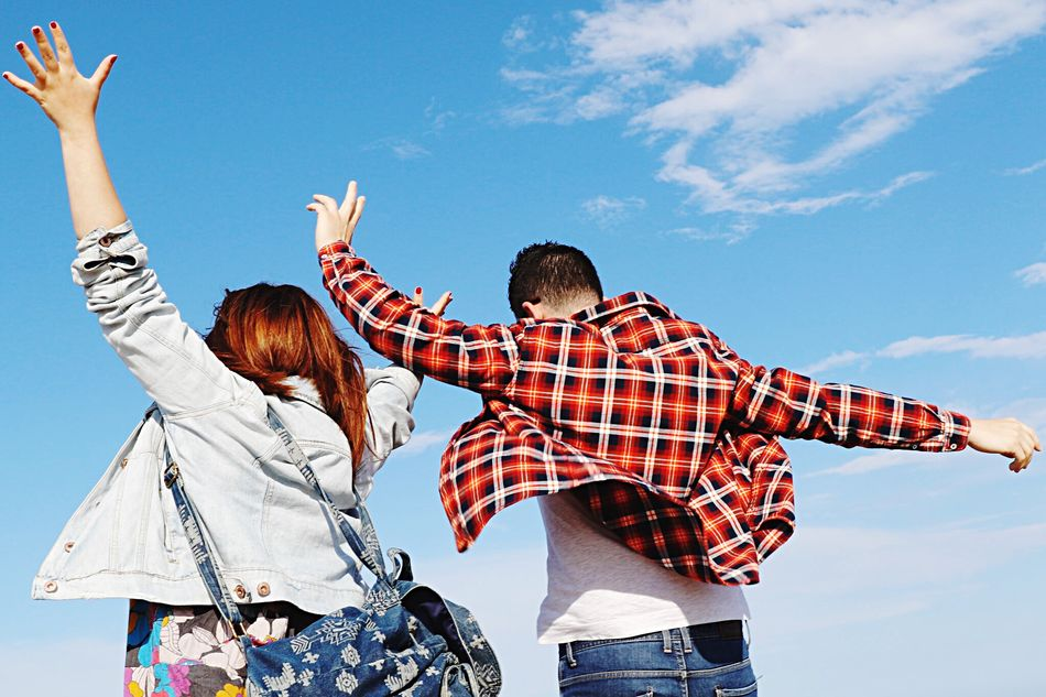 Beautiful stock photos of couples, Casual Clothing, Day, Enjoying, Leisure Activity