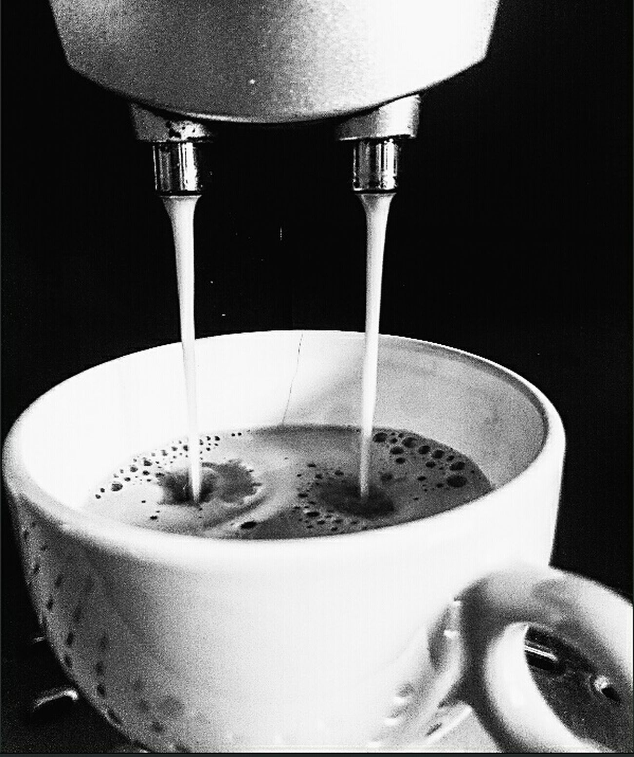 All you need is love and a cup of coffee ❤Coffee Cozy Coffee Time Sunday A Taste Of Life Relaxing EyeEm Hanging Out Drinking Coffee Blackandwhite Hotcoffee Tasty Feeling Good Blackandwhite Photography Wakeup☕