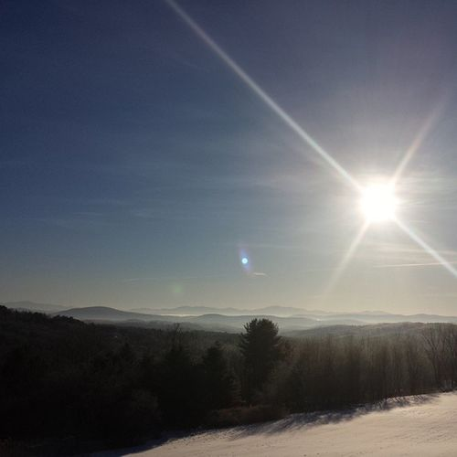 Spontaneous road trip! Sunflare Mountains Winter Goodmorning danvillevt vt vtphoto vermont vermontbyvermonters greenmountainstate instagood photooftheday igvermont ignewengland nofilter