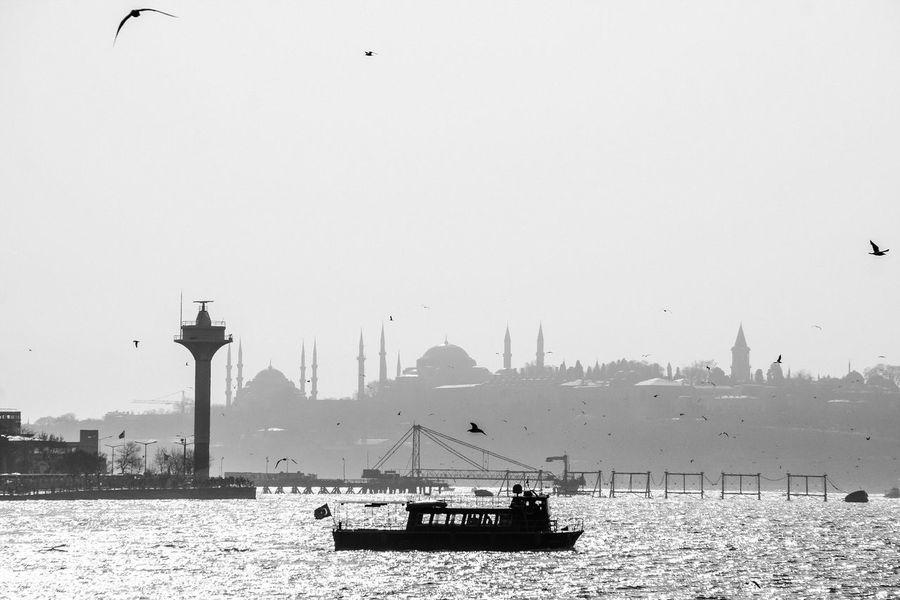 A day at istanbul. Asien Asien Istanbul Black And White Photography Blackandwhite Blackandwhite Photography Bosphorus, Istanbul Bosporus Bosporus Bridge Bosporus-Brücke Europe Istanbul History Istanbul Modern Monochrome Turkey Türkei Türkiye